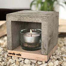 candle cube© Kleiner Teelicht Tisch-Kamin Ofen