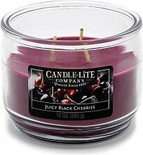 Candle-lite - 3 Docht Duftkerze im Glas, Juicy