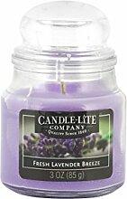 Candle-lite - Duftkerze im Glas, Fresh Lavender