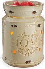 Candle Warmers elektrische Duftlampe Bless this