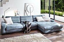 Candy Big Sofa Stripes mit Longchair