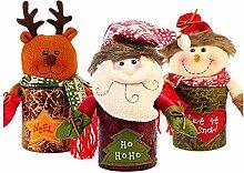Candy Box Weihnachtsgeschenk-Box Snowman elk Apple