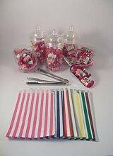 Candy Buffet-Set:, Kunststoff, x3, x5-Zange & x