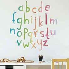 Candy Color 26 Englisch Kleinbuchstaben