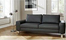 Candy Einzelsofa Intermezzo Polstersofa 2 Sitzer, 2,5 Sitzer, 3 Sitzer für Wohnzimmer in Stoff -oder Lederbezug wählbar