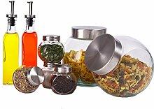 Candy Jar Salzstreuer Apotheker Glas Spice Glas