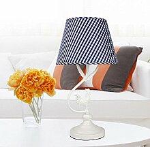 Candy Leuchtet/Östliches Mittelmeer Schreibtischlampe/Eisernen Lampe/Schlafzimmer Lights/Pastorale Studie Lampe/Kreative Lampe-A