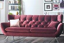 CANDY, Sofa Sixty, 2,5-Sitzer, Velvet purple,