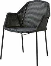 Cane-line - Breeze Sessel stapelbar (5464), schwarz