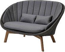 Cane-Line Peacock 2-Sitzer Sofa ohne Kissen