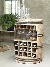 Canett Furniture Crazy Weinfass Weinregal Aus Holz