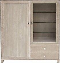 Canett Furniture Houston Vitrine Landhaus mit 2