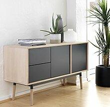 Canett Furniture Milton Anrichte mit 2 Tür und 2