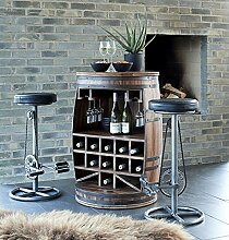 Canett Furniture Rosey Weinfass Weinregal Aus Holz