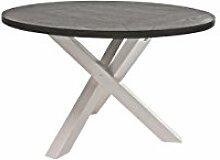 Canett Furniture Skagen Esstisch-Rund, Holzdekor,