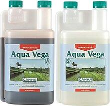 CANNA Aqua Vega A 1L Dünger Wuchs Grow Stimulator