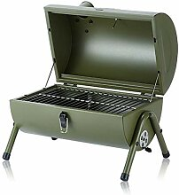 CANQI BBQ Charcoal Outdoor Smoker BBQ Tragbarer