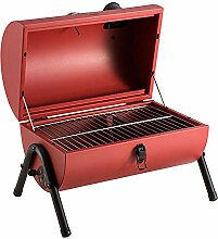 CANQI BBQ Charcoal Outdoor Smoker BBQ Tragbarer