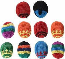Cansenty Handgefertigte Säcke Fußsack Spielzeug