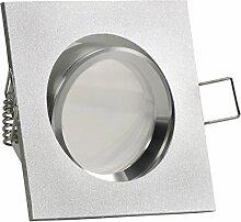 CANTO LED 10er Set 6W dimmbar 230V GU10 Decken