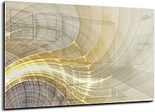 CANVAS FLY Wandbild aus Glas, Deko für