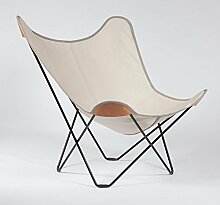 Canvas Mariposa Butterfly Chair Outdoorsessel,