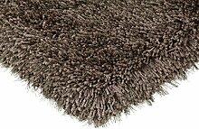 Canvey Teppich 65x135 cm Smoke Grau /Braun