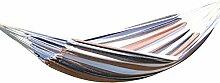Canyonlands Hängematte 200 x 100 cm, Belastbarkeit bis ca 110 kg, in verschiedenen Designs (Stuttgart - Weiß Braun Schwarz)