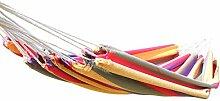 Canyonlands Mehrpersonen Hängematte 200 x 150 cm, Belastbarkeit bis ca 180 kg, in verschiedenen Designs (München - Rot Grün Gelb Lila Pink)