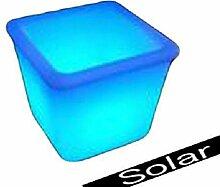 Canyonlands multifunktionale solar LED Gartenleuchte Blumentopf / Eiskübel in verschiedenen Größen (34 x 26 x 26 cm)