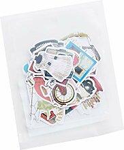 CAOLATOR Aufkleber für Kinder Kamera Sticker für