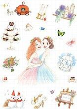 CAOLATOR Freundschaft Aufkleber Kinder Sticker