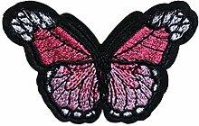 CAOLATOR.Klein Schmetterling Patch Applikation zum