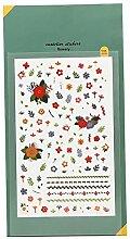 CAOLATOR. PVC Tagebuch Sticker Blumen Fotoalbum