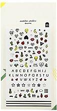 CAOLATOR. PVC Tagebuch Sticker Obst Fotoalbum