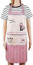 CAOLATOR Schürze Kochschürze für Frauen und Männer Restaurant-Küchen-Schürzen Fröhlicher Baum Ro