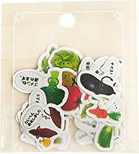 CAOLATOR Scrapbooking Aufkleber Gemüse Sticker