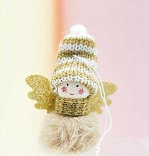 CAOQAO Mini Niedlichen PlüSch Engel MäDchen