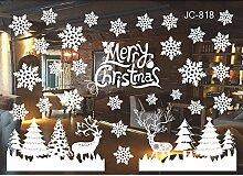 CAOQAO Weihnachten Wohnzimmer Weihnachten