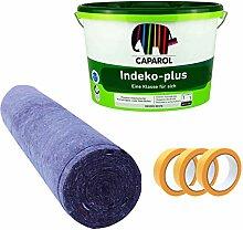 Caparol Indeko Plus 12,5 Liter Wandfarbe + 3x