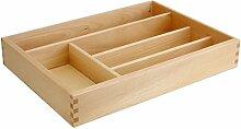 Caper-Besteckkasten Holz 5Sitzer