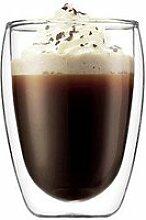 Cappuccino-Glas 0,35l Pavina doppelwandig 2er Set