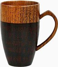 Cappuccino Tassen Holztasse Kaffee Tee Biersaft