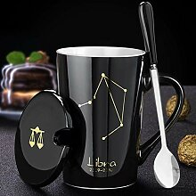 Cappuccino Tassen Kaffeekeramikbecher 12