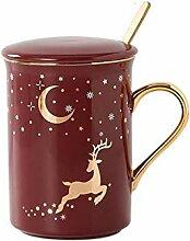 Cappuccino Tassen Keramik Sternenhimmel Becher Mit