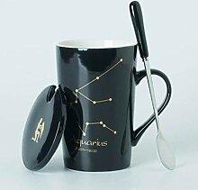 Cappuccino Tassen Keramikbecher 12 Sternbilder