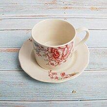 Cappuccino Tassen Porzellan Teetasse Untertasse