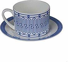Cappuccino Tassen Tasse Kaffee Teetassen Retro