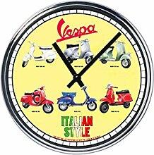 Capricci Italiani Wanduhr Mit Vespa (3° Version)