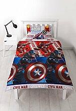 Captain America VS Iron Man Bürgerkrieg Single
